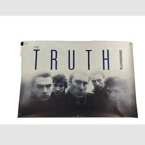 The Truth Band Promotional Poster 1985